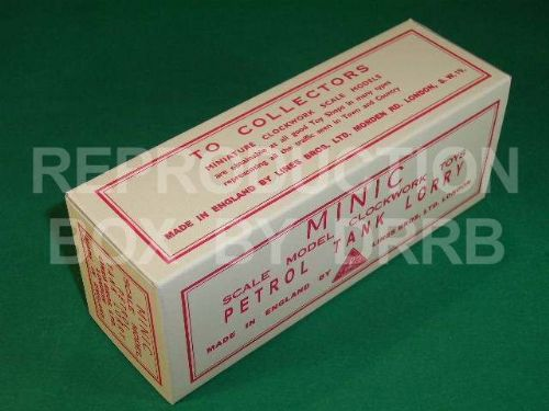 Minic #15M Petrol Tank Lorry - Reproduction Box